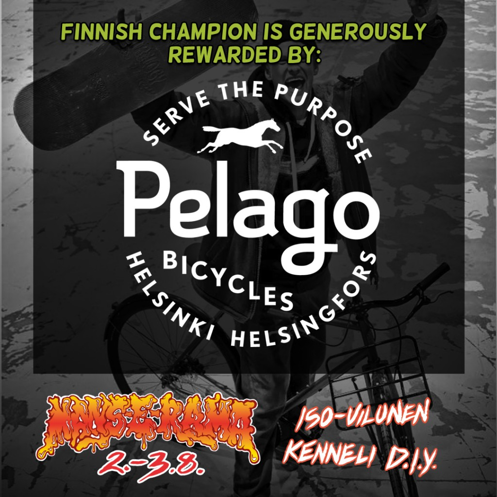 Finnish champion is generously rewarded by Pelago bicycles